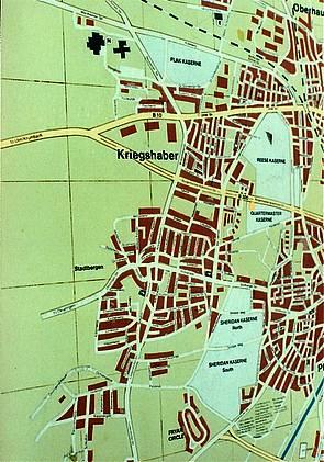 Amerika in Augsburg Sheridan Reese Flak Fryar Flak Kaserne